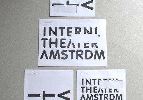 Internl Theater Amsterdm – huisstijl