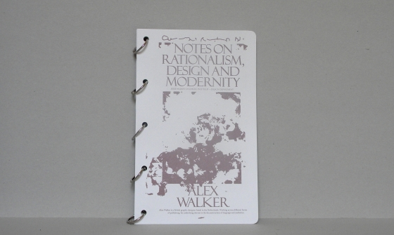 notes on rationalism, design and modernity