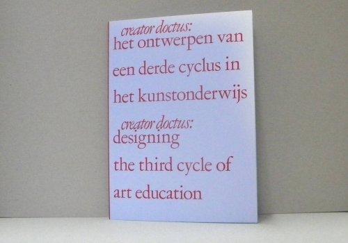 het ontwerpen van een derde cyclus in het kunstonderwijs