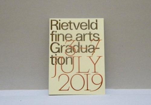 rietveld finarts graduation