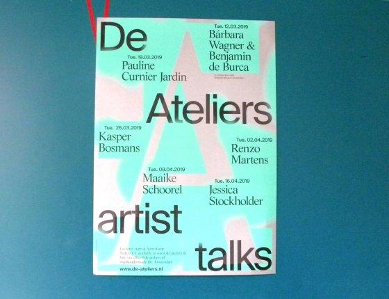 De ateliers artist talks