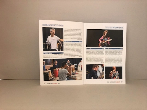 buitenkunst folder + brochure 2021