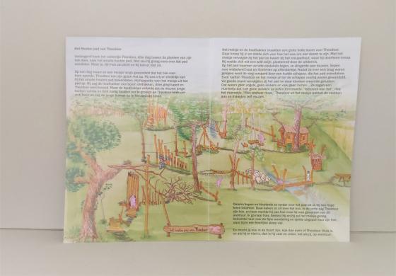 het houten pad van theodoor