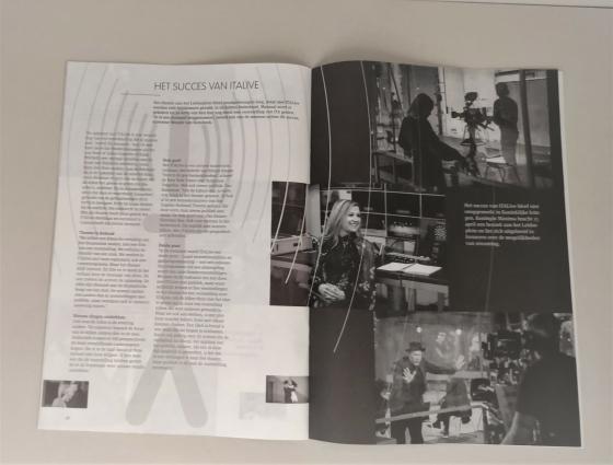ita bodem / deksel doos + brochure