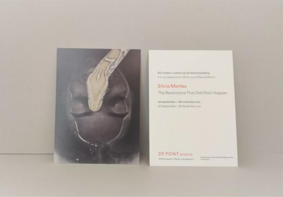 tentoonstelling Isabelle Andriessen – Silvia Martes