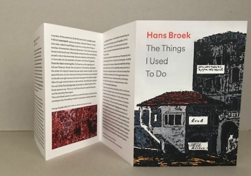 hans broek – the things I used to do