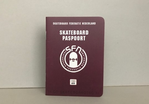skateboard paspoort